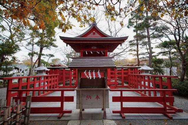 鶴岡八幡宮旗上弁財天の画像